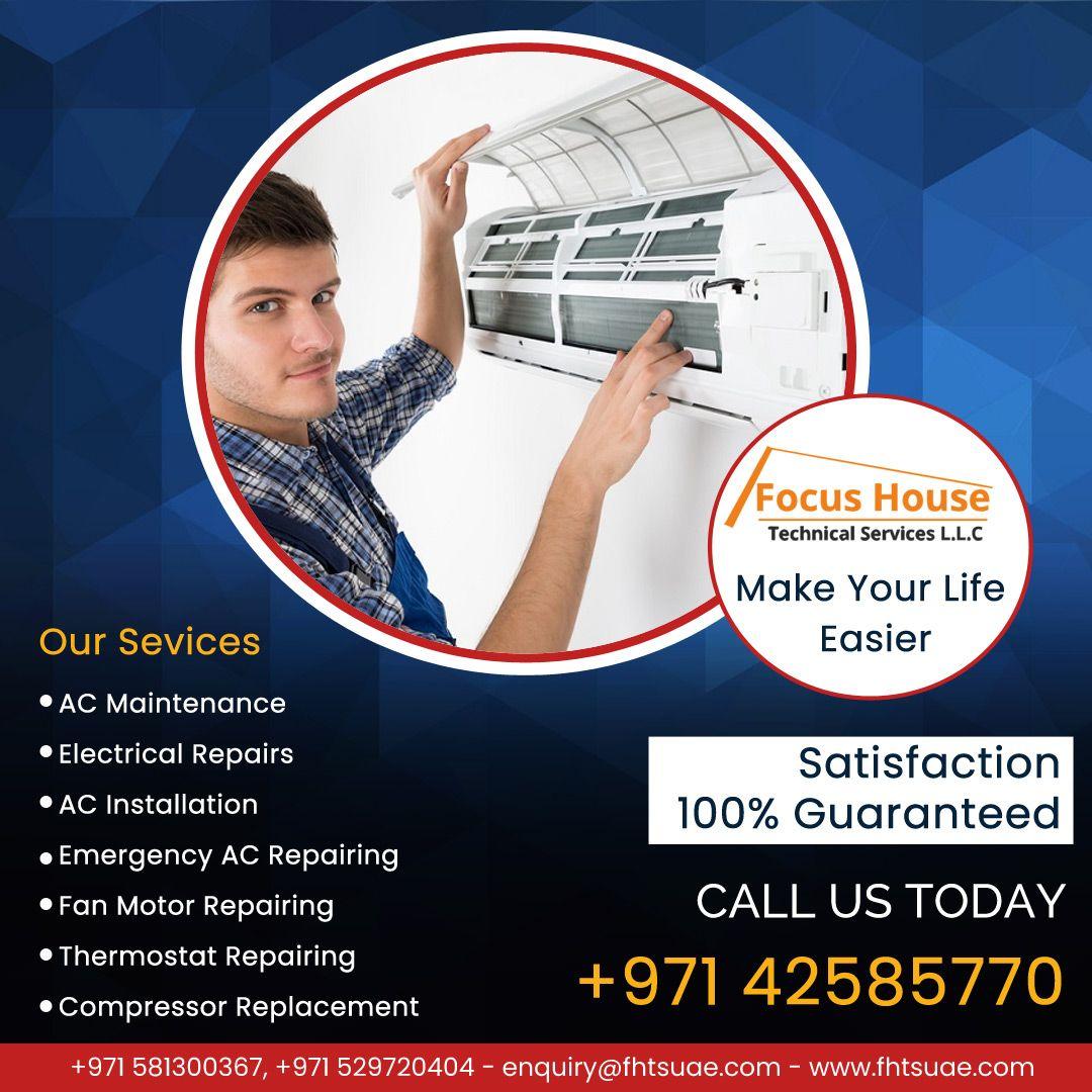 AC Maintenance Company In Dubai Ac maintenance, Air