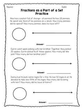 Fraction Sets And Number Lines  Nf  Pinterest  Number And  Fraction Sets And Number Lines