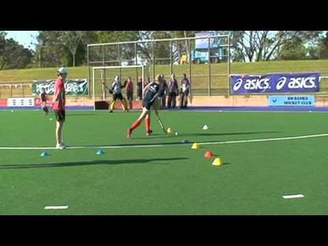 Hockey Australia Goal Shooting Skills 3 Trini Powell Field Hockey Drills Field Hockey Hockey Drills
