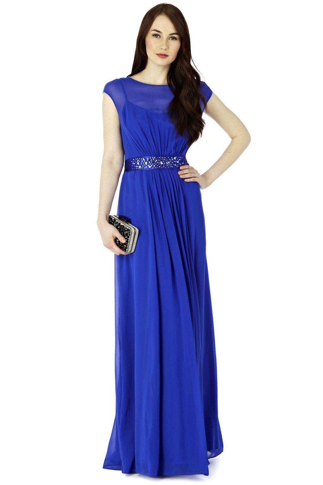 cobalt blue bridesmaid dresses | Lori Lee Maxi Dress Cobalt Blue ...