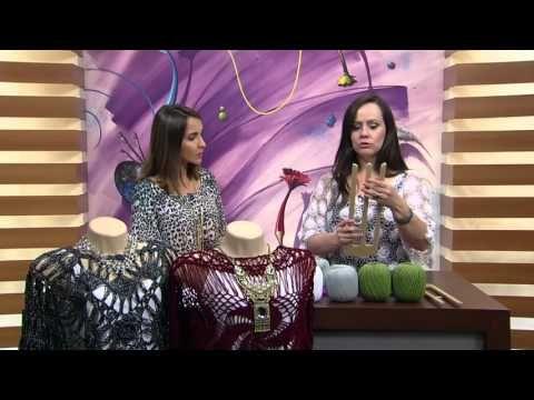 Mulher.com - 30/03/2016 - Crochê de Grampo - Helen Mareth PT1 - YouTube