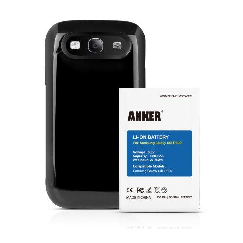 Anker 7200mah Extended Battery Combo Bestseller Http Computer S Com External Battery 2 Anker Battery Review With Images Samsung Galaxy Samsung Galaxy