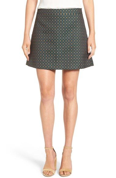 Chelsea28 Jacquard A-Line Skirt available at #Nordstrom