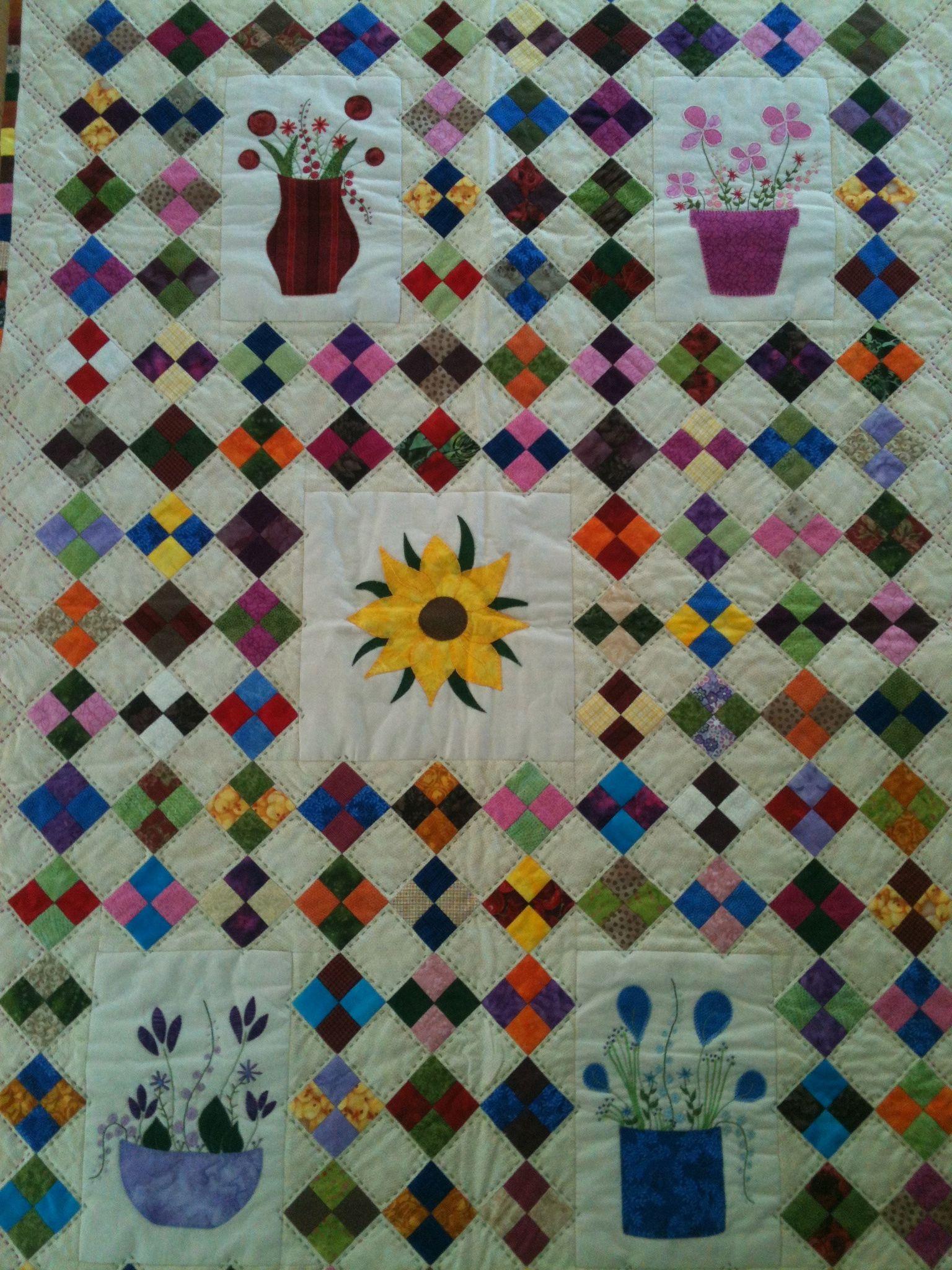 Blomster potter