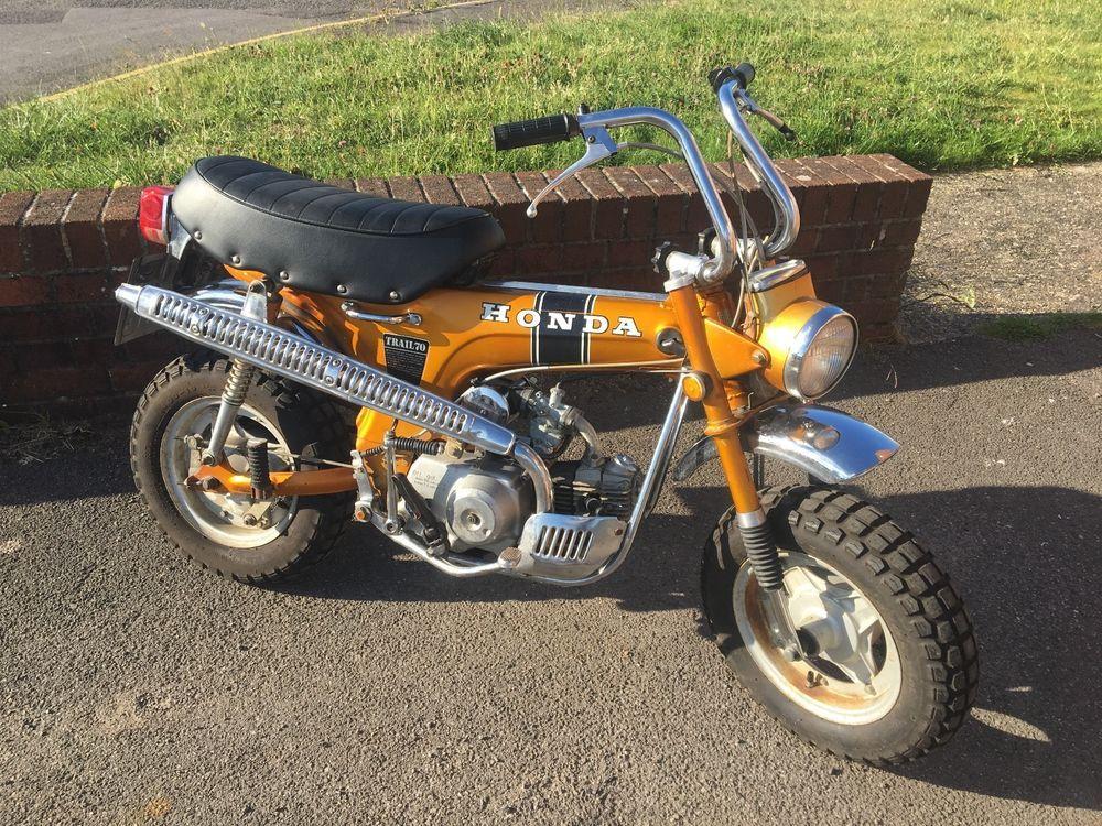 Ebay Honda Ct70 St70 Mini Trail 1969 Ko 6v Monky Bike Dax Mot D Ready To Ride Dax Honda Custom Mini Bike