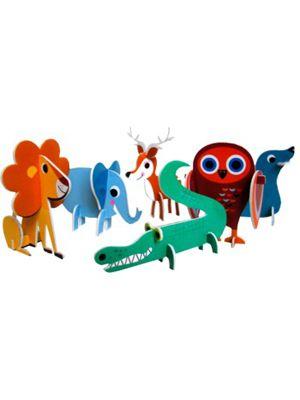 Animal parade, 2 D palapeli - konglomerat.fi - Tuotteet