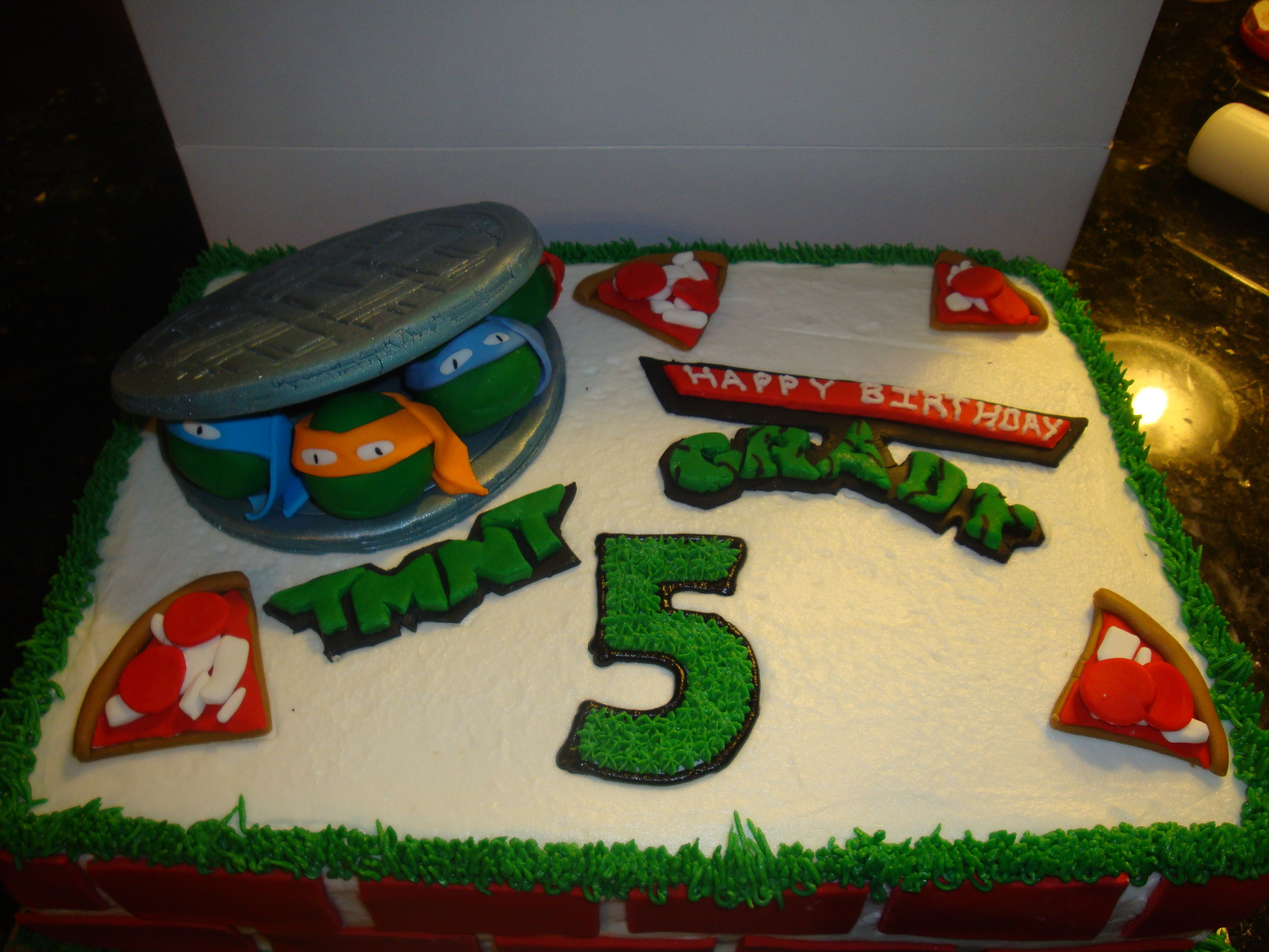 Ninja Turtles Cake Walmart
