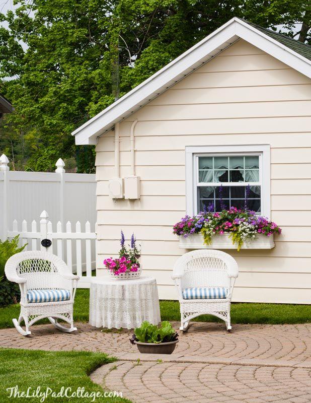 5 Tips for Gorgeous Window Boxes Estilo campestre, Azotea y Las