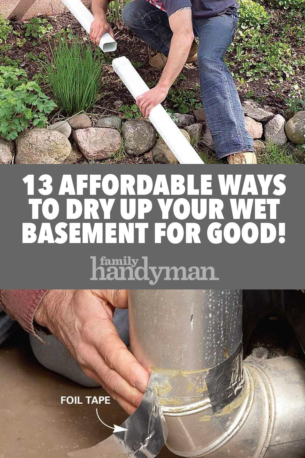 Learn How To Stop Basement Leaks And Dry A Wet Basement