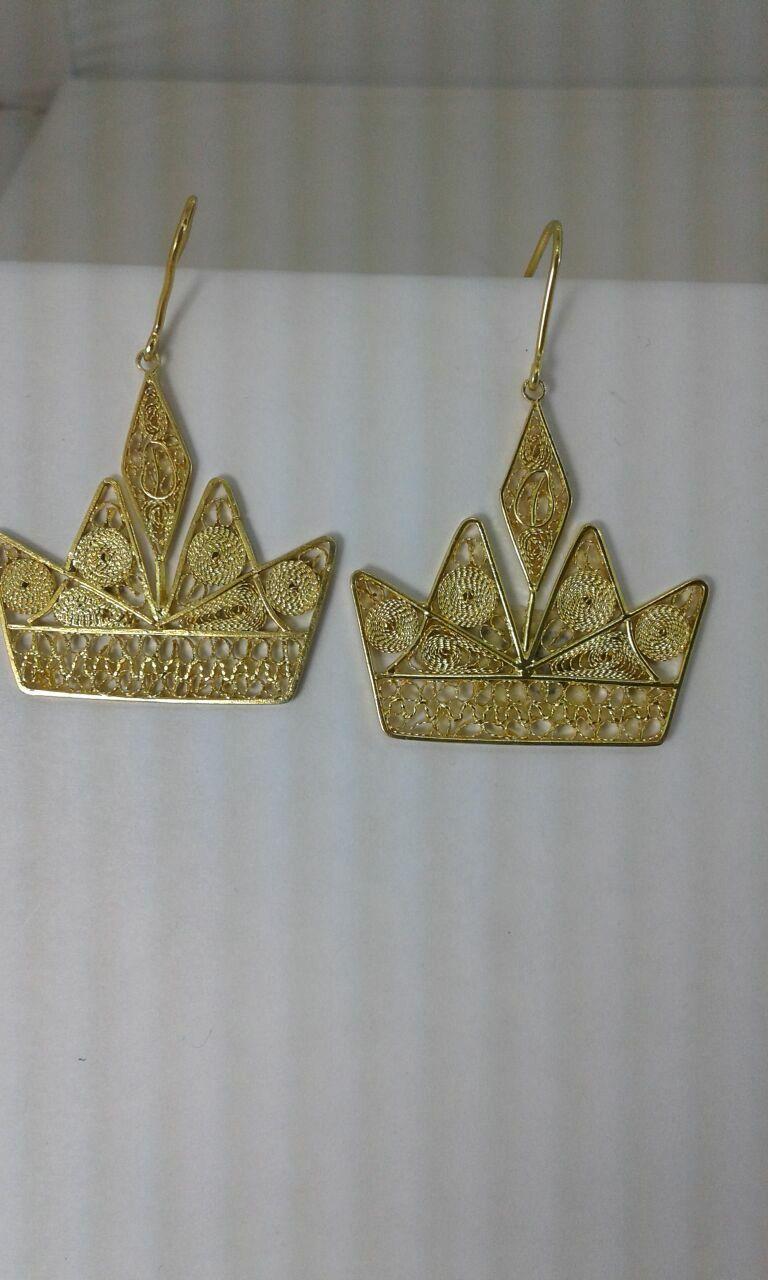 Corona en filigrana