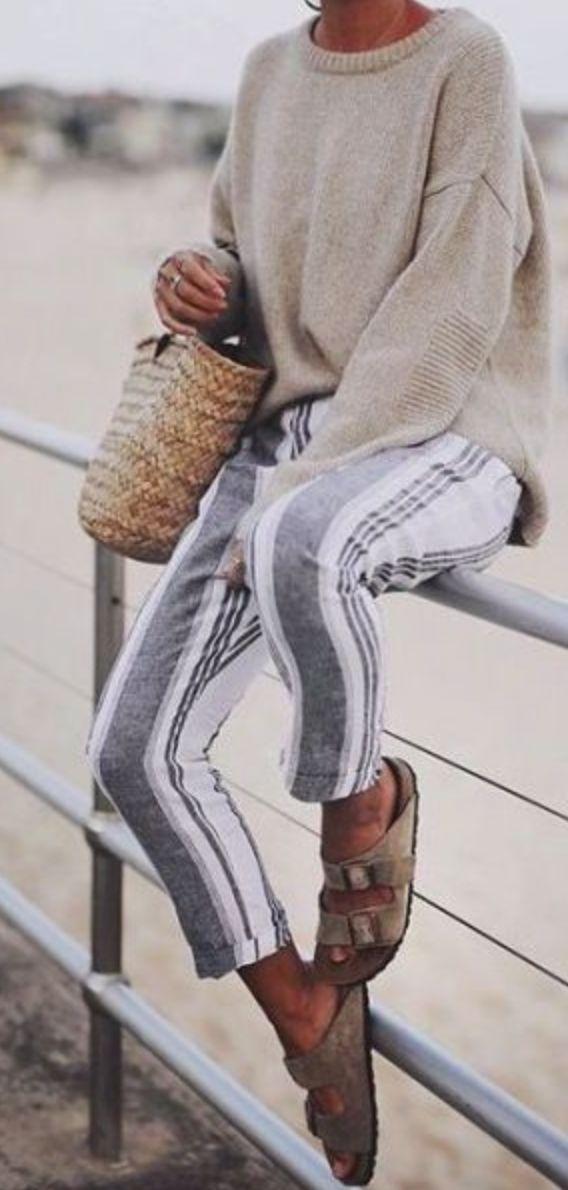 Photo of De smukke jeans elsker de lodrette striber giver os kortere damer lidt Heig …