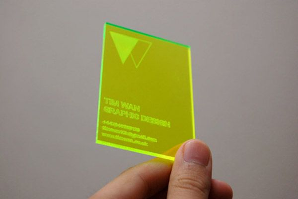 Acrylic make your business cards stand out visual identity acrylic make your business cards stand out colourmoves