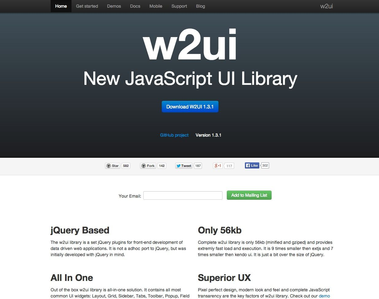 Jquery plugins to work with data presentation and grid layout - W2ui Light Weight Jquery Based Plugins For Front End Development Of Data Driven