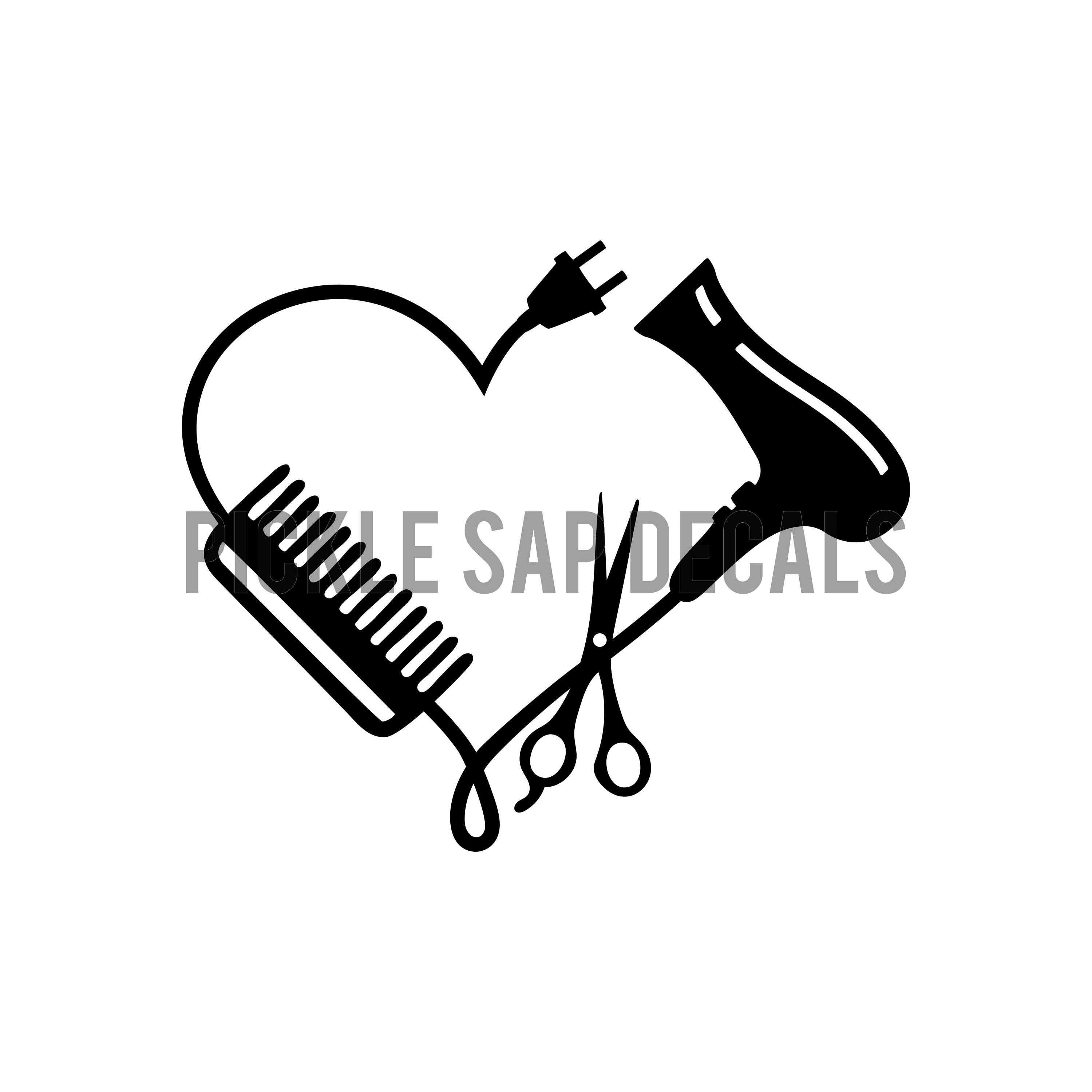 Download Hairdresser   Stylist   Cosmetic   Scissors and Comb ...