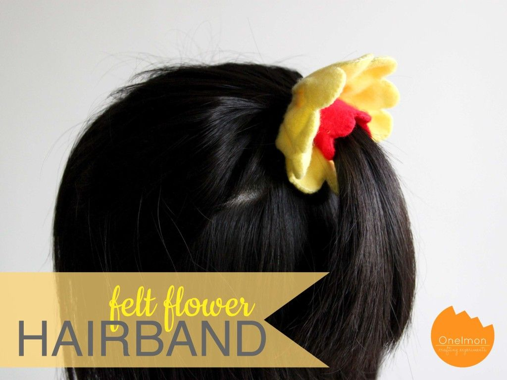 Onelmon Flowerhairband With Images