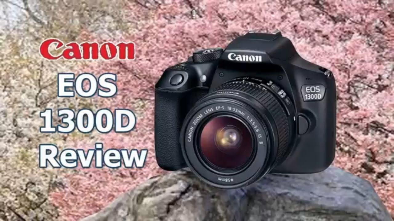 Canon EOS 1300D With EF-S 18-55mm f\\/ 3.5 - 5.6 IS II Lens Buy On ...