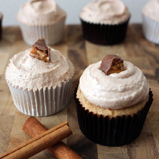 how to make snickerdoodle cupcakes
