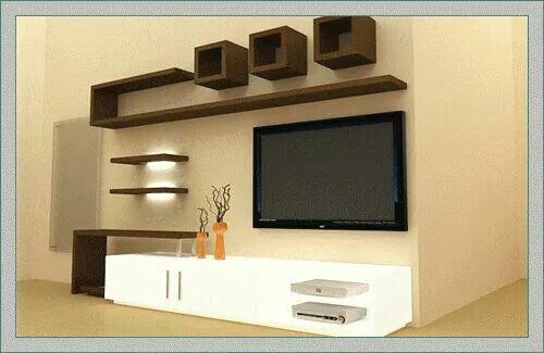 Pin by Snega Priya on home decor   Pinterest   Tv walls, TVs and Tv ...