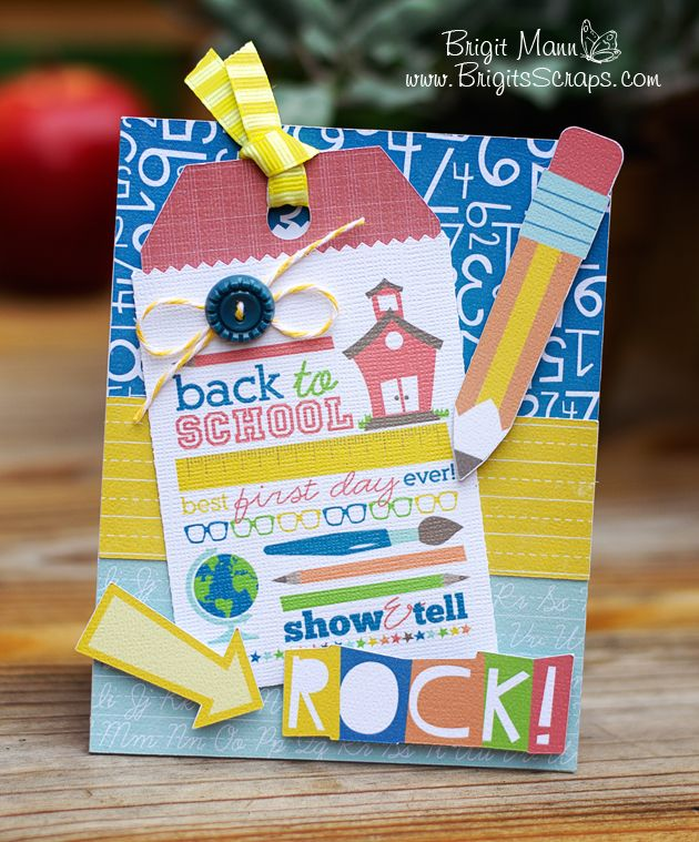 "Brigit's Scraps ""Where Scraps Become Treasures"": Back To School"