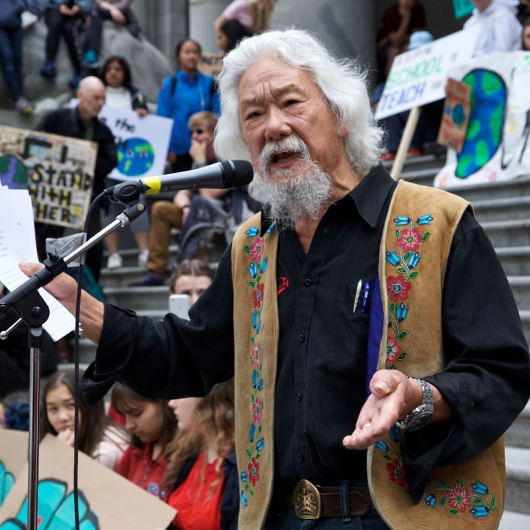 David Suzuki Foundation On Instagram Youth Are Absolutely Right To Leave Classes And Demand Action Because It S Your Entire Future David Suzuki Suzuki Youth