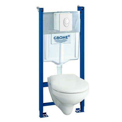 Pack Wc Suspendu Bati Mur Solido Compact Wc Suspendu Pack Wc Suspendu Amenagement Wc