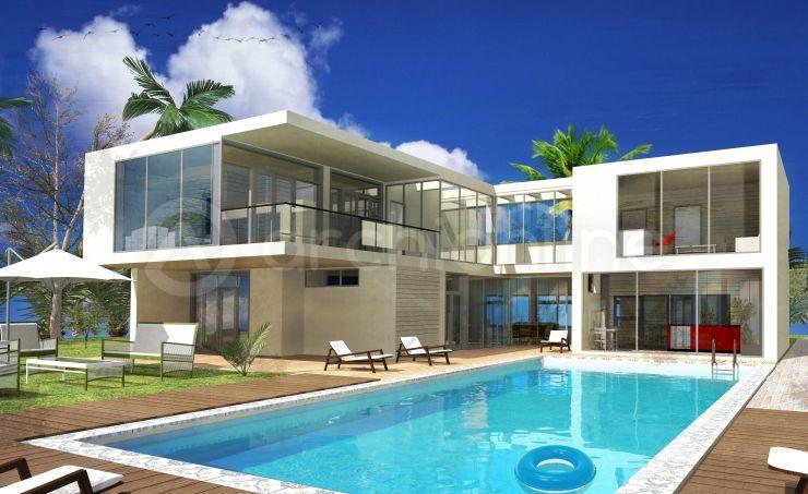 Maison Athenis - Plan de maison Moderne par Archionline Modern