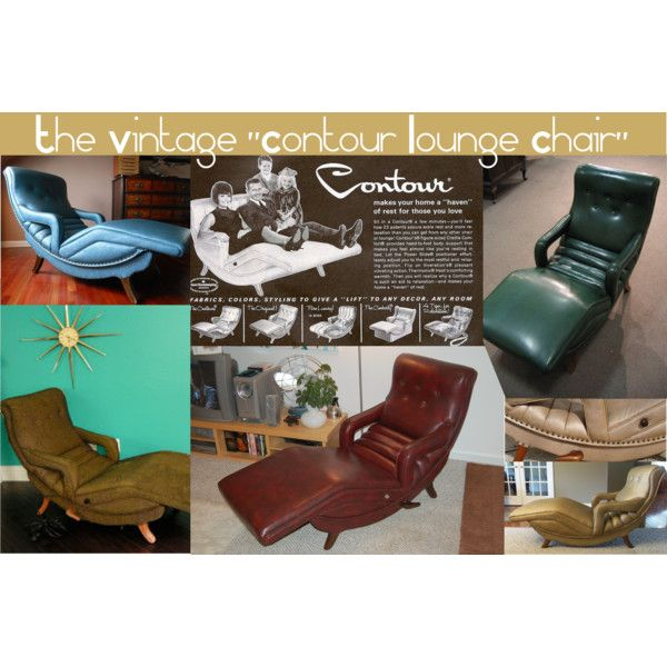 Fabulous The Vintage Contour Lounge Chair I Will Have One Of These Alphanode Cool Chair Designs And Ideas Alphanodeonline