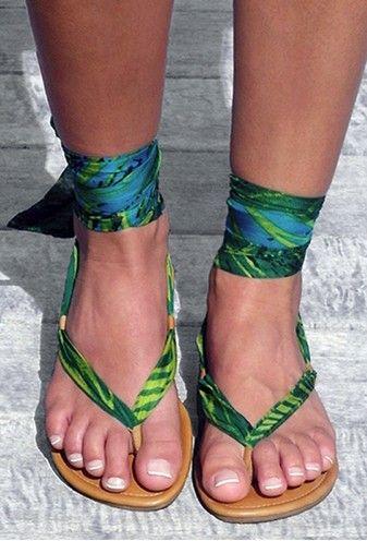 Bahia Wrap Sandals