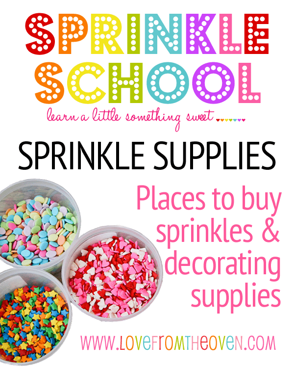 Sprinkle School - Where To Find & Buy Sprinkles And A ...