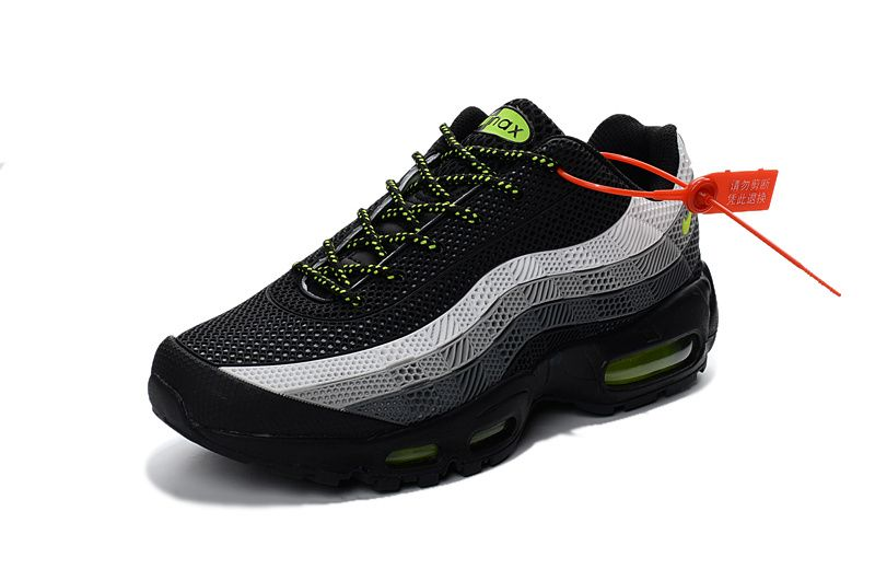 separation shoes ede3c b3ba6 Where To Buy 2018 Nike Air Max 95 ID Kup MENS SHOES white grey green