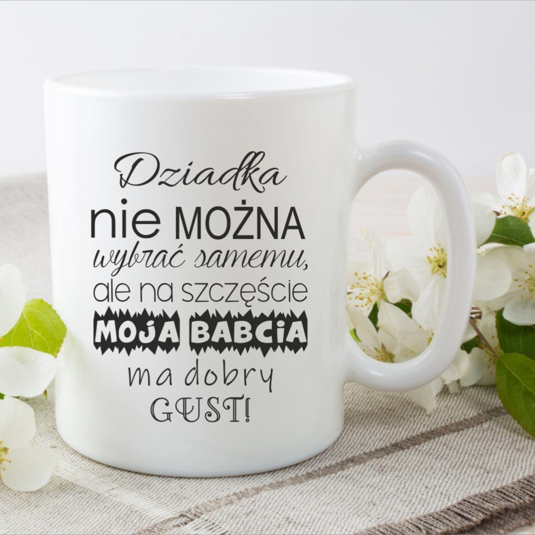 Kubek Na Dzien Dziadka Glassware Tableware Mugs