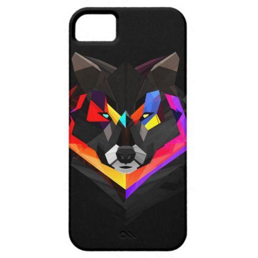 Polygon Art, Wolf
