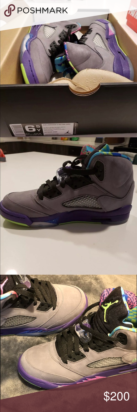 online store 82332 4a055 Jordan 5 Belair 6.5y or women's 8-8.5.New Perfect condition ...