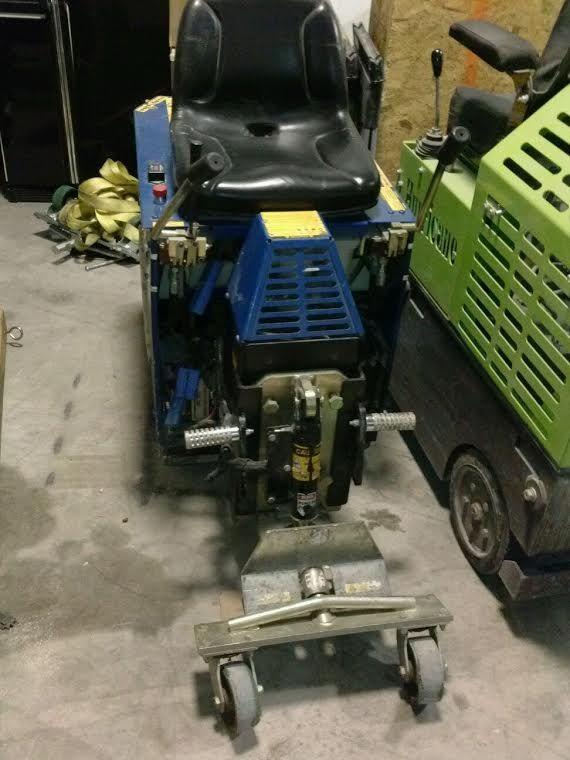 Terminator Floor Scraper RideOn Floor Scrapers Pinterest - Used floor scraper machine for sale