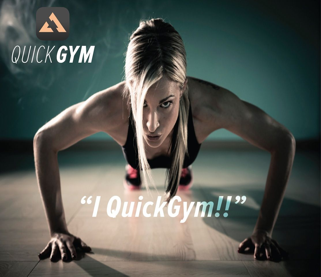 After using QuickGym I want to look like this!