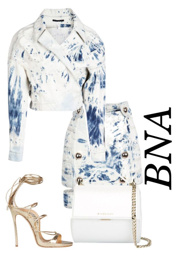 """""""BNA"""" by deborahsauveur ❤ liked on Polyvore featuring Anthony Vaccarello, Givenchy and Dsquared2"""