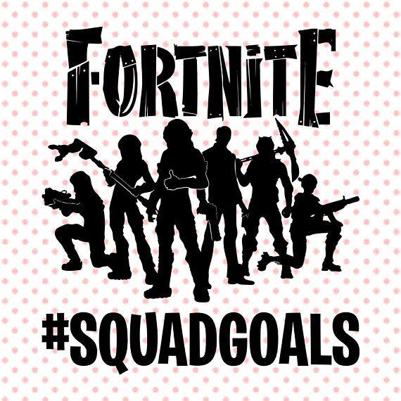 6ab4f75610b8 Fortnite #SquadGoals svg, SquadGoals clipart, Fortnite Squad Goals cut  file, Battle Royale svg bundl