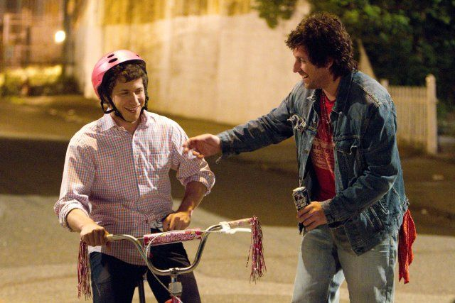 I got exactly what I expected from this movie...enjoyed it very much. Still of Adam Sandler and Andy Samberg in That's My Boy