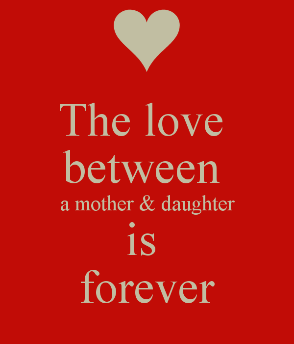 Love Quotes For Daughter From Mother. QuotesGram