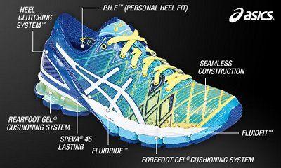 Asics Women S Gel Kinsei 5 Running Shoe Shoes Asics Women S Gel