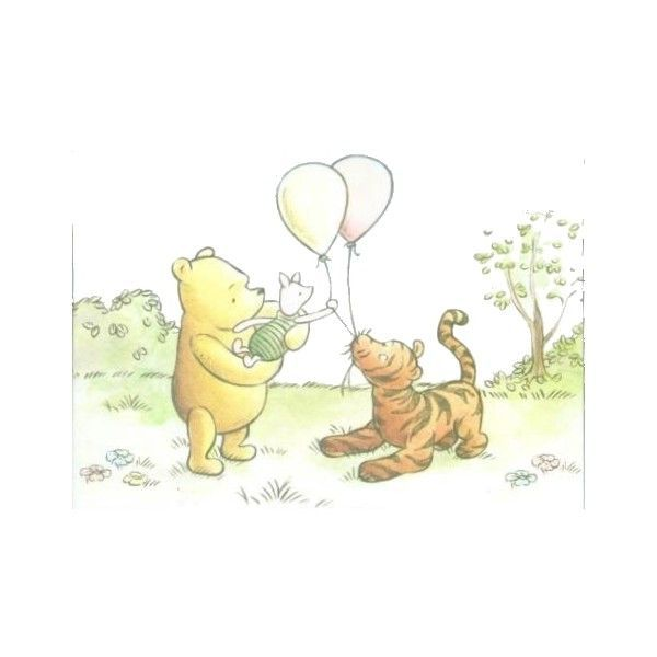 Classic Pooh Clipart Collection found on Polyvore: Pooh Clipart ...