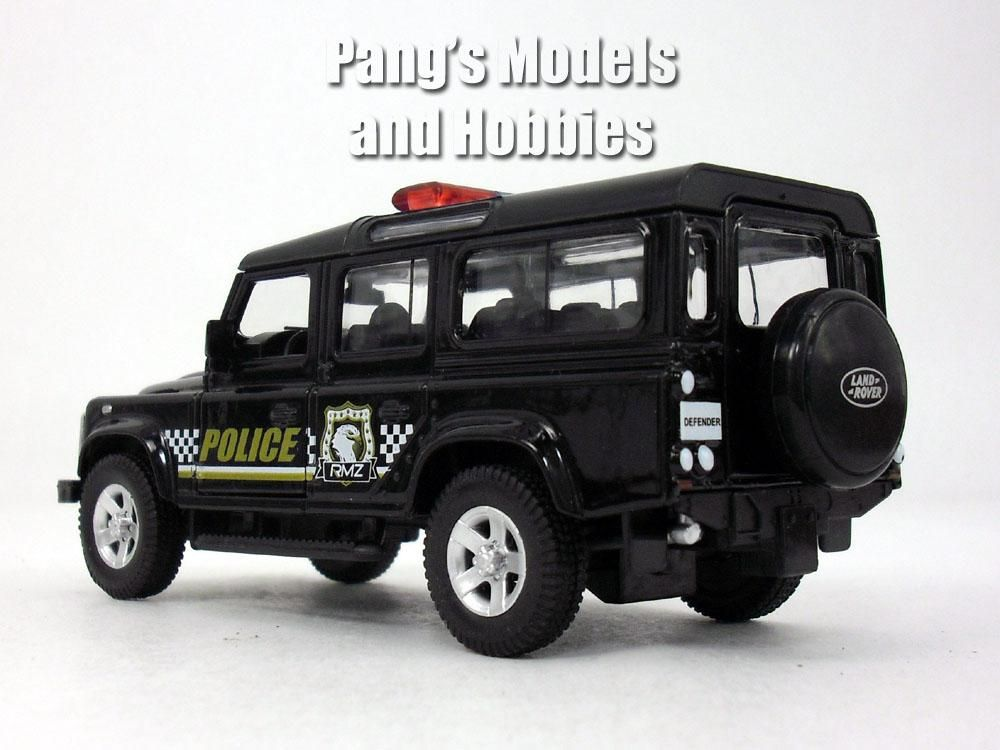 5 Inch Land Rover Defender Police Patrol Station Wagon Scale Diecast Metal Model By Unifortune Land Rover Defender Land Rover Station Wagon