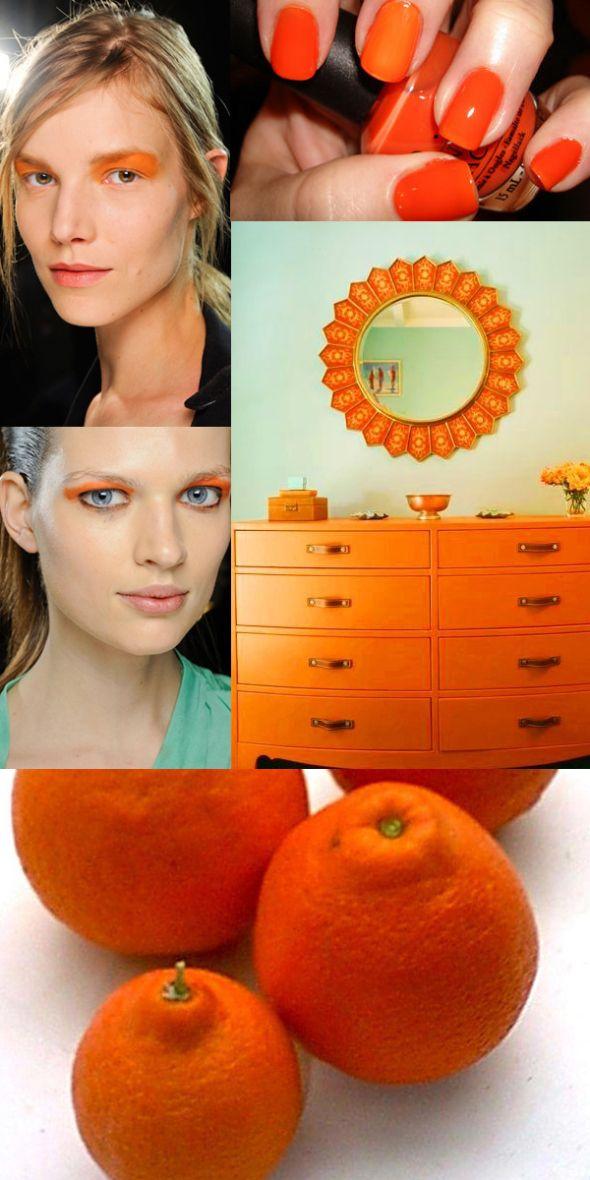 Color trends 2013: Tangelo