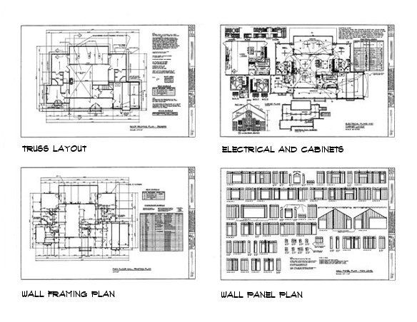 House plan sample drawings 3 | House projects | Pinterest ...
