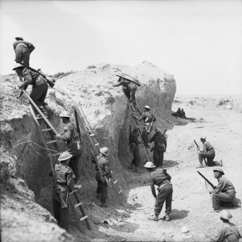 Image result for ww2 north africa wadi