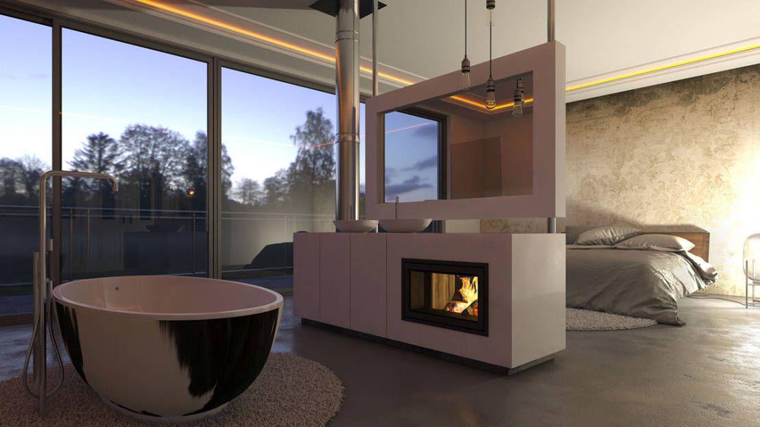 Luxus-Feeling zu Hause Integriert das Bad ins Schlafzimmer