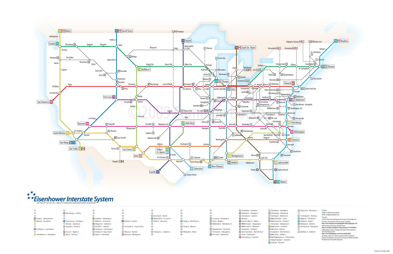 Eisenhower Interstate Highway System, the largest public works ...