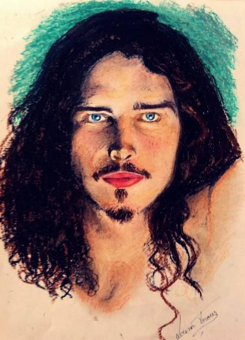 Chris Cornell Artwork by Lorena Tavares