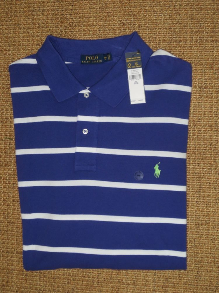 b86ef248 POLO RALPH LAUREN MEN'S 3X 3XB POLO SHIRT CLASSIC FIT XXXL PONY LOGO NEW  #PoloRalphLauren #PoloRugby