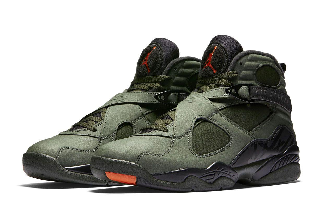 Air Jordan 8 Retro: Releasing Next Week in Military Colorway - EU Kicks:  Sneaker